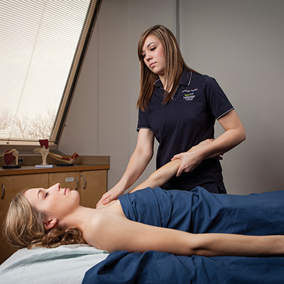 Make an appointment at our Student Massage Therapy Clinic