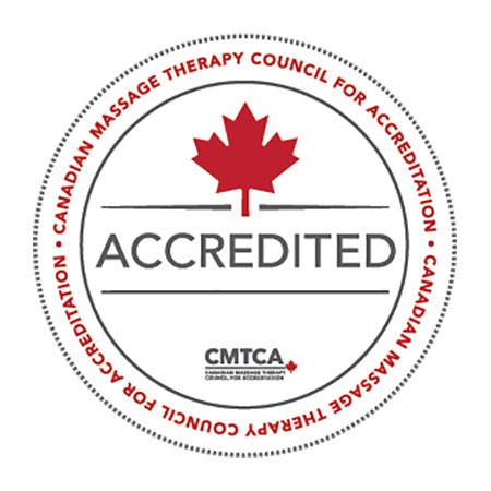 Massage Program accreditation seal
