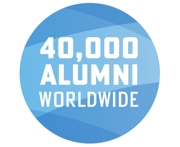 40,000 alumni worldwide