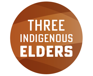 Three indigenous elders