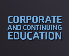 Corporate and Continuing Education