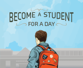 Become a student for day