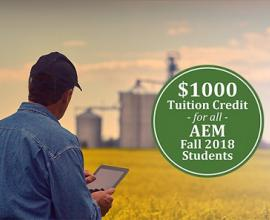 AEM tuition credit