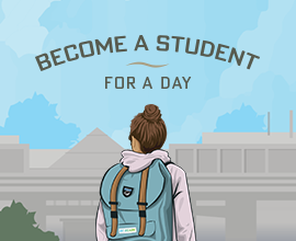Become a student for a day
