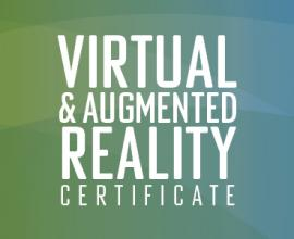 Virtual Reality Certificate