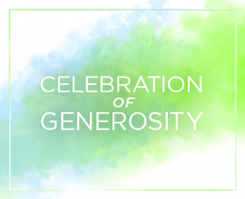 Celebration of Generosity