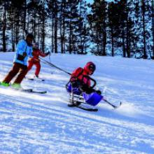 Skiers of all abilities