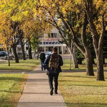 Lethbridge College in autumn