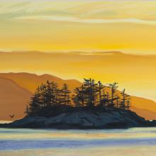 Tiffany Wollman island painting