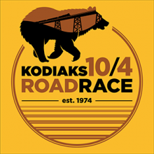 The t-shirt design for the 2019 10/4 Road Race.