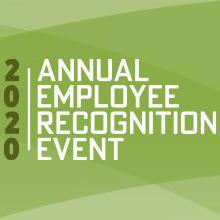 2020 Annual Employee Recognition Event sign