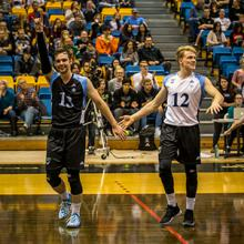 Kodiaks volleyball players Matt Primrose and Dax Whitehead return to lead the team this season