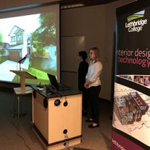 Interior Design Technology students pitch their new home design as part of the 2019 Ashcroft Design Challenge.