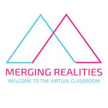 The Merging Realities 2019 logo
