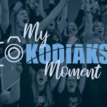 Give to the My Kodiaks Moment campaign to support Kodiaks Athletics scholarships.
