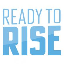 The Ready to Rise campaign logo