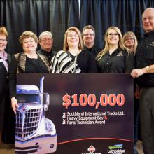Southland International Trucks Ltd donation