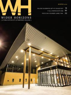 Wider Horizons Winter 2018 Cover